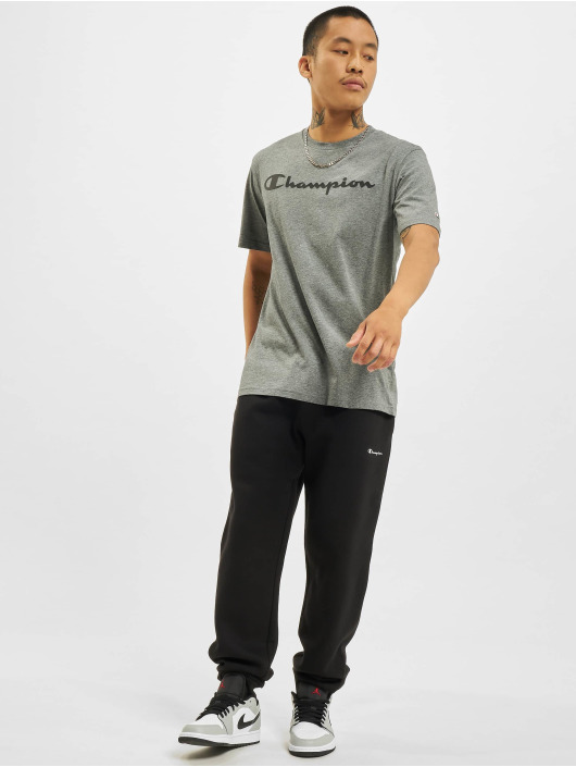 Champion T-Shirt Logo grey