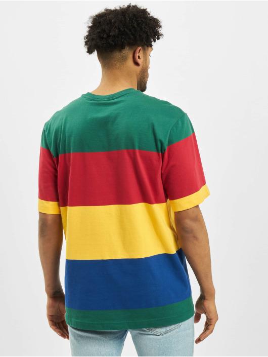 Champion T-Shirt Colourblocking grün