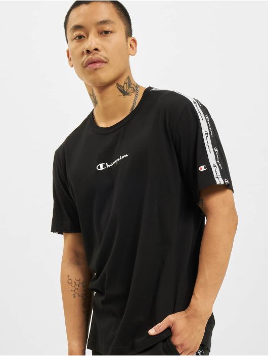 Champion T-Shirt Logo Tape noir