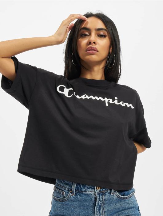 Champion T-Shirt Oversize noir