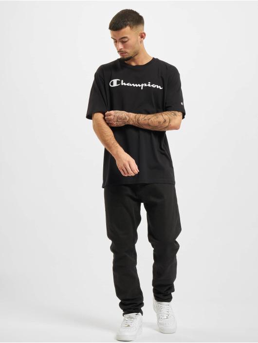 Champion T-Shirt Logo schwarz