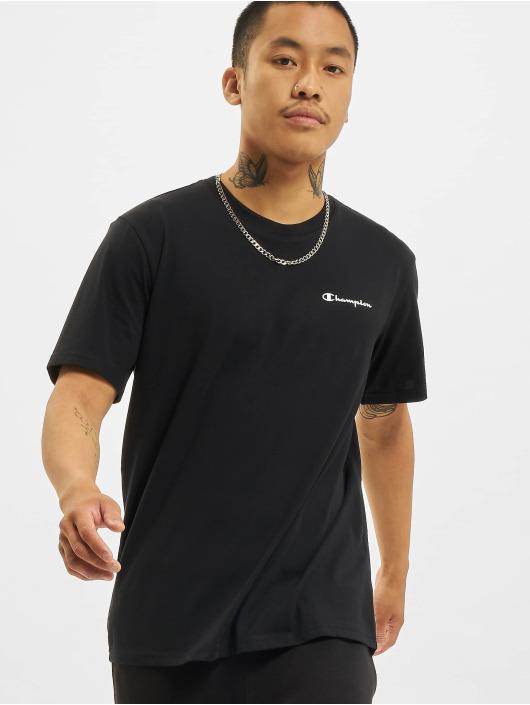 Champion T-Shirt Logo II schwarz