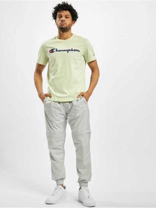 Champion T-Shirt Satin Logo vert
