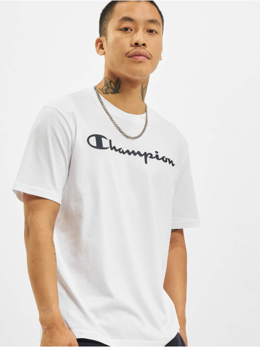 Champion T-Shirt Logo weiß