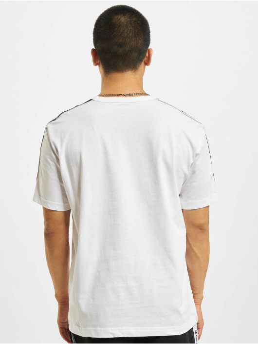 Champion T-Shirt Logo Tape white
