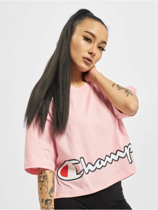 Champion T-shirts Rochester pink