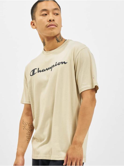 Champion T-Shirty Logo bezowy