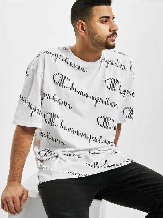 Champion T-Shirty Allover bialy
