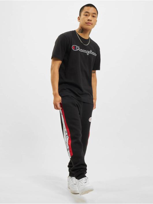 Champion T-Shirty Classic czarny