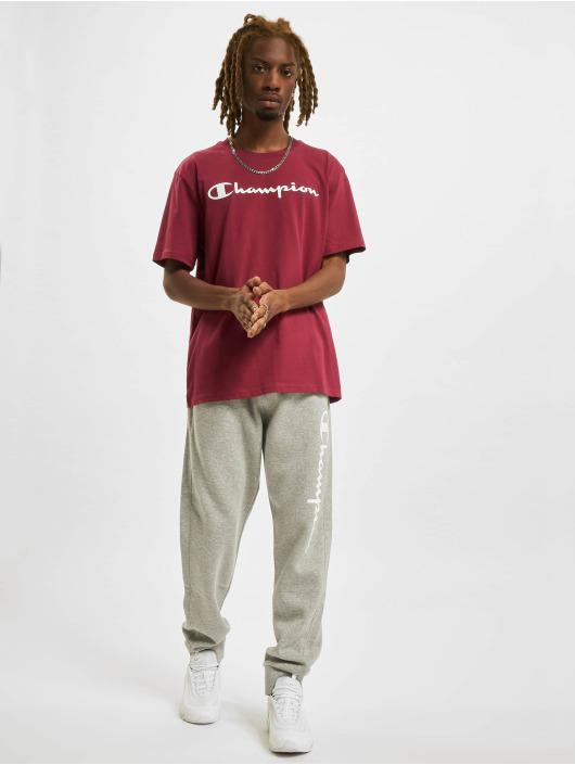 Champion T-Shirty Logo czerwony