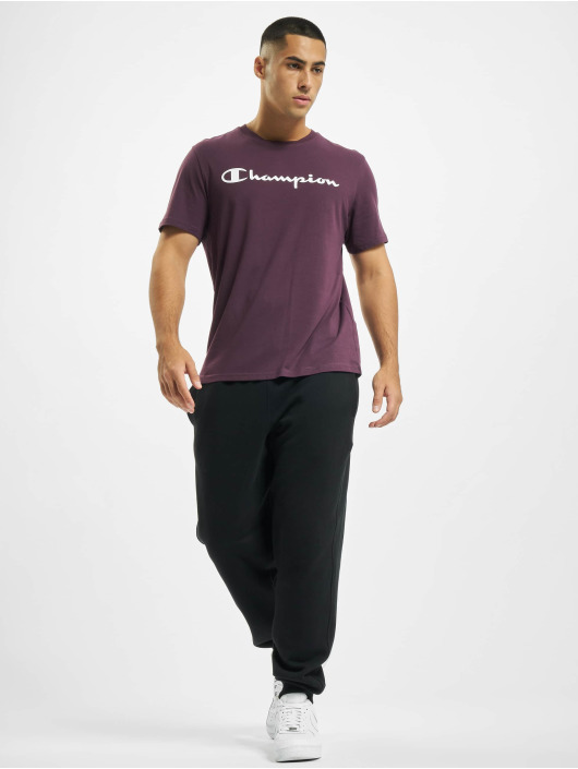 Champion T-Shirty Legacy fioletowy