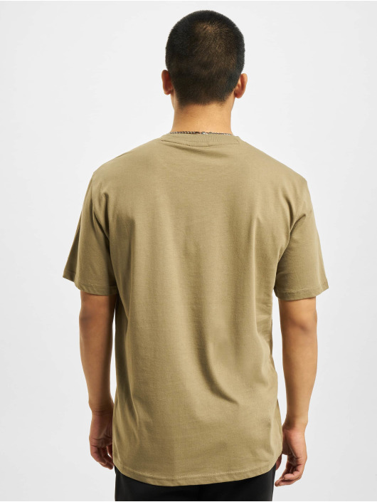 Champion T-Shirty Logo khaki