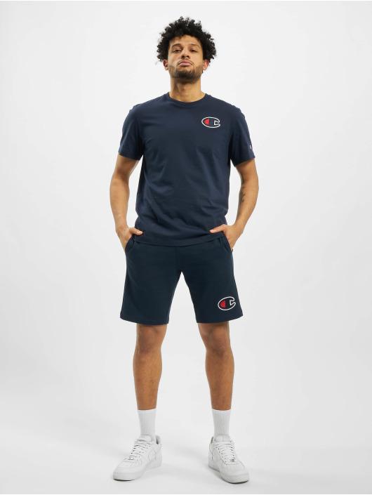 Champion T-Shirty C-Logo niebieski