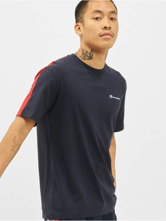 Champion T-Shirty Backprint niebieski