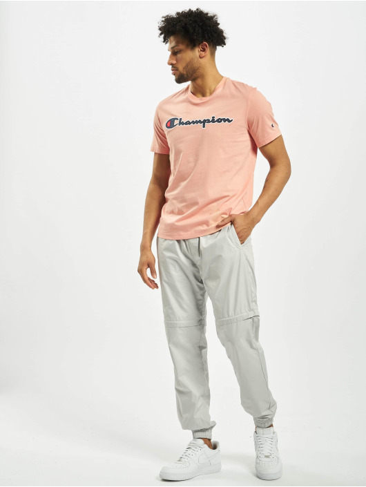 Champion T-Shirty Satin Logo rózowy