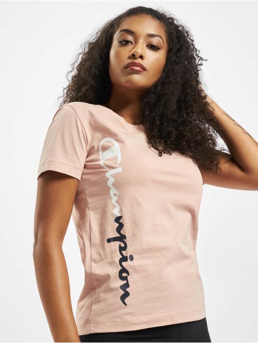 Champion T-Shirty Legacy rózowy