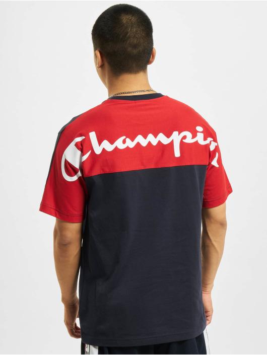 Champion T-skjorter Backprint blå