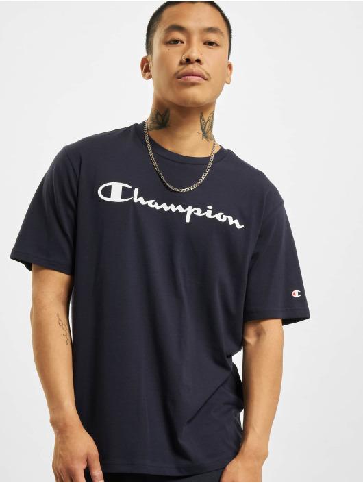 Champion T-skjorter Logo blå