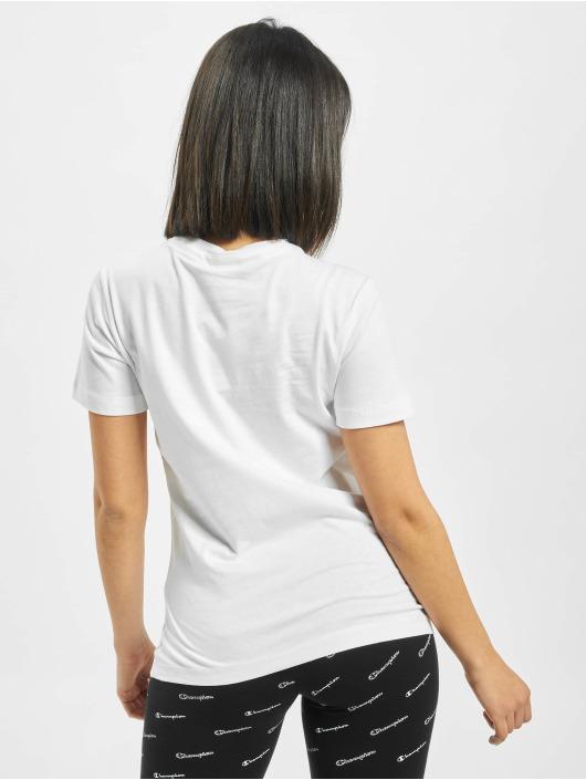 Champion T-skjorter Crewneck hvit