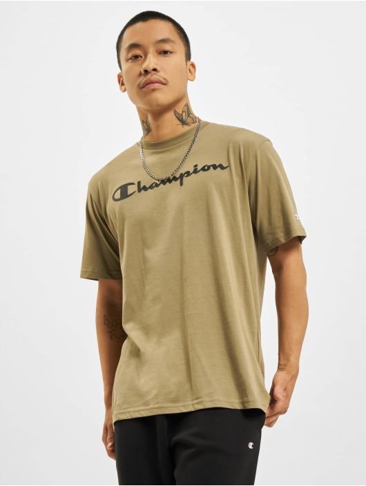 Champion T-skjorter Logo khaki