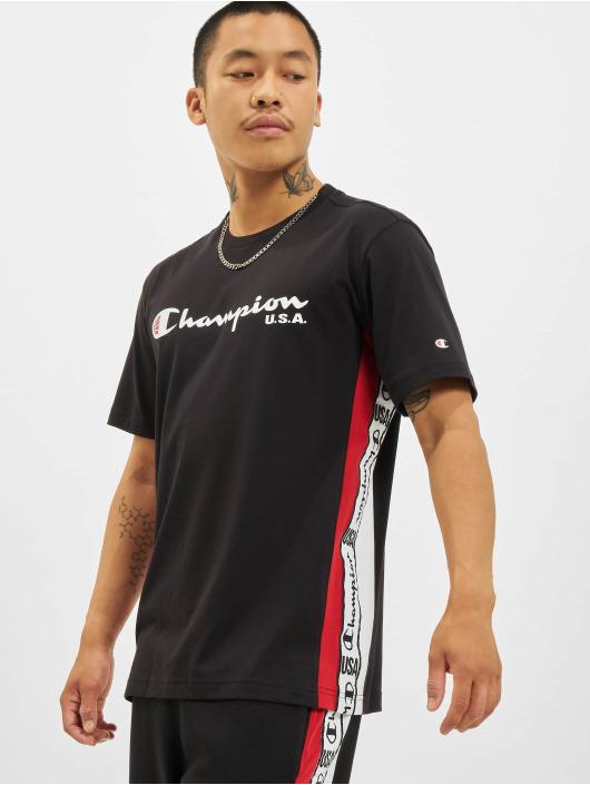 Champion T-skjorter USA svart