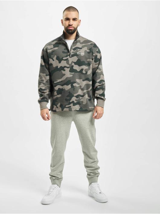 Champion trui Half Zip camouflage