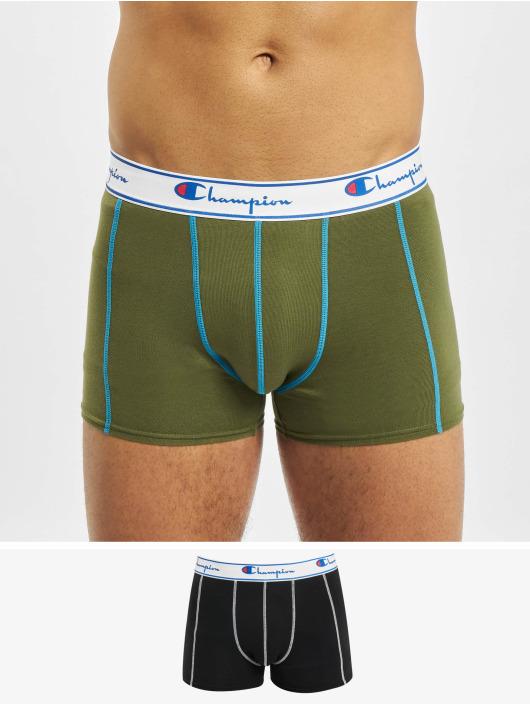 Champion Underwear Bokserit X2 musta