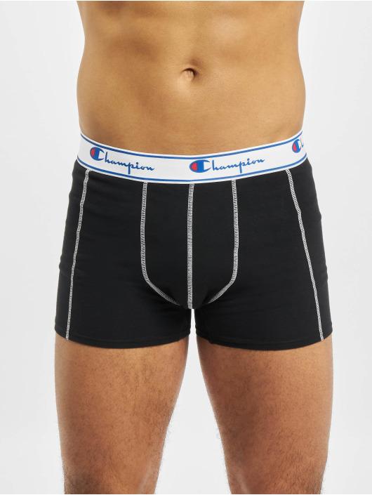 Champion Underwear Boxer X5 5-Pack noir