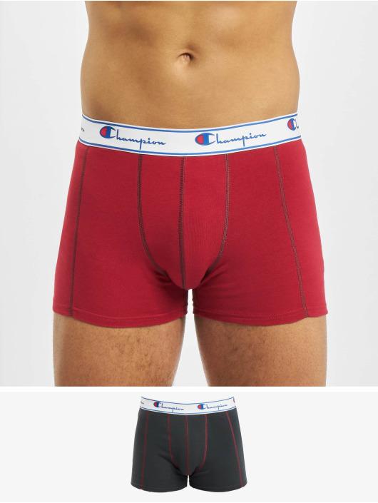 Champion Underwear Boxer X2 Mix rosso