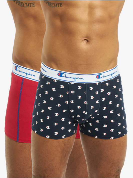 Champion Underwear Boxer Short X2 2-Pack Mix blue
