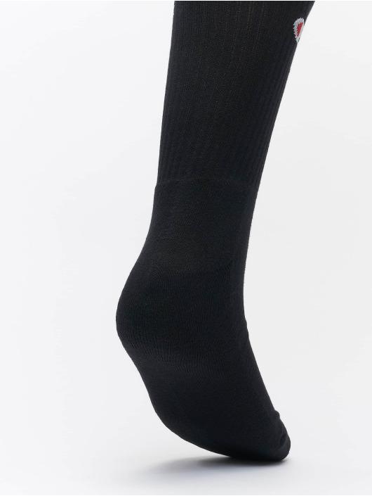 Champion Underwear Chaussettes Y08qg X6 Crew noir