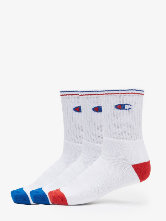 Champion Underwear Ponožky Y0829 X3 Crew 3-Pack bílý