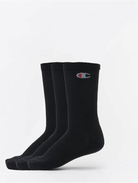 Champion Underwear Socken X3 Legacy Crew 3-Pack schwarz