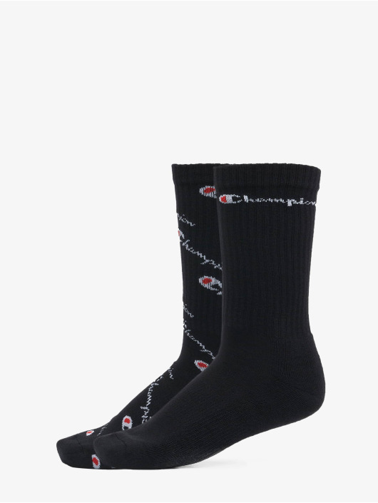 Champion Underwear Socks X2 Crew Mix black