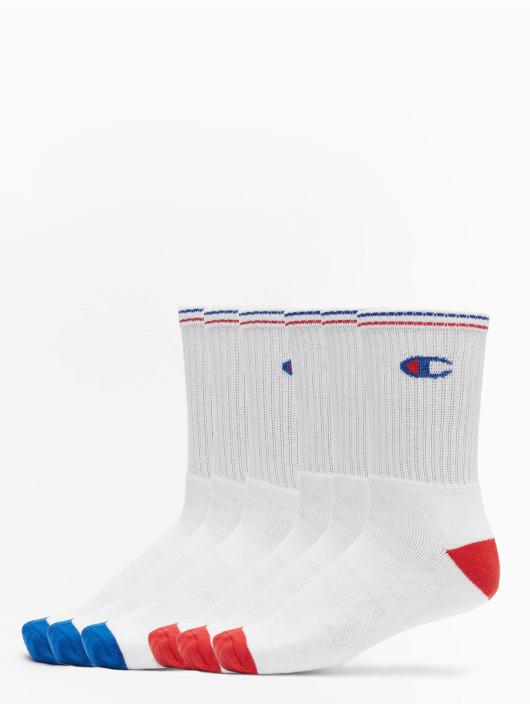 Champion Underwear Sokker X6 Crew 6er-Pack hvit