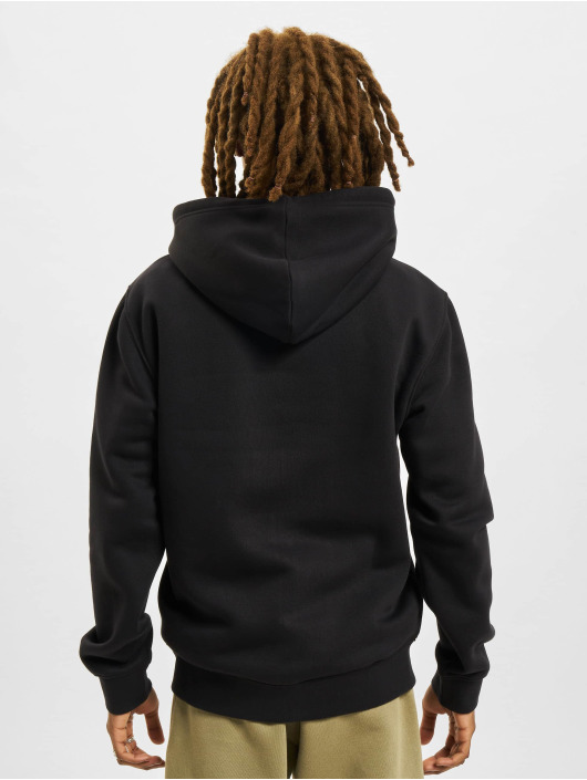 Champion Zip Hoodie Basic schwarz