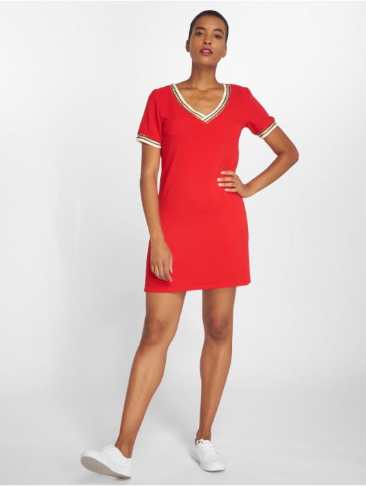 Charming Girl Abito Tac rosso