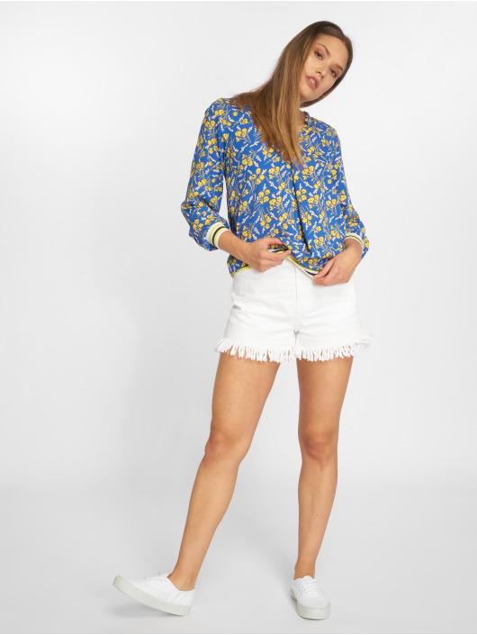 Charming Girl Blouse & Chemise Uni bleu