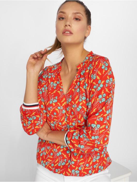 Charming Girl Blouse & Chemise Uni rouge