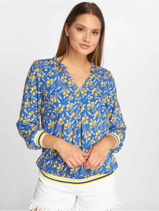 Charming Girl Blouse/Tunic Uni blue