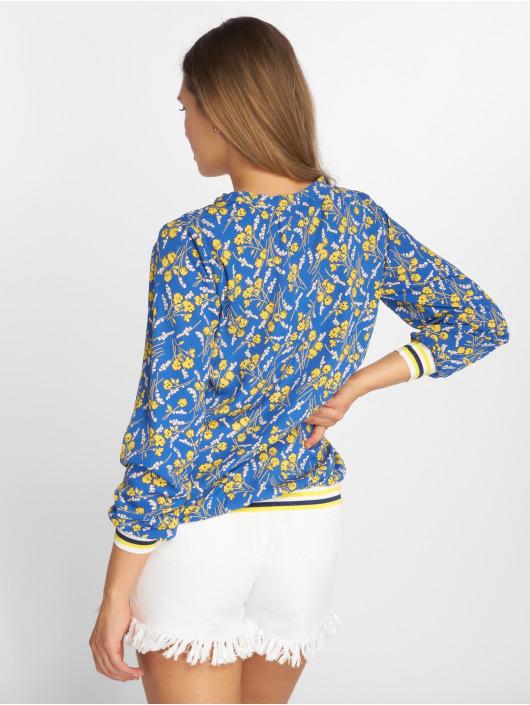 Charming Girl Bluse Uni blau
