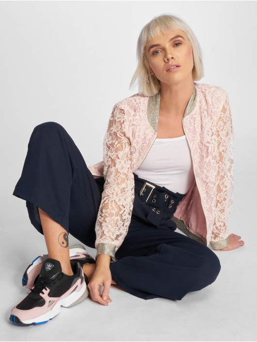 Charming Girl Damen Bomberjacke Ted in rosa 548879 ee0aba6193