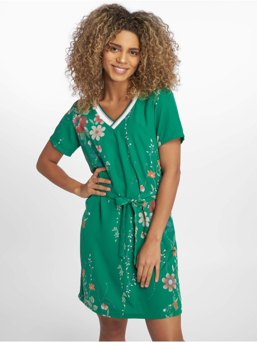 Charming Girl Dress Depose green