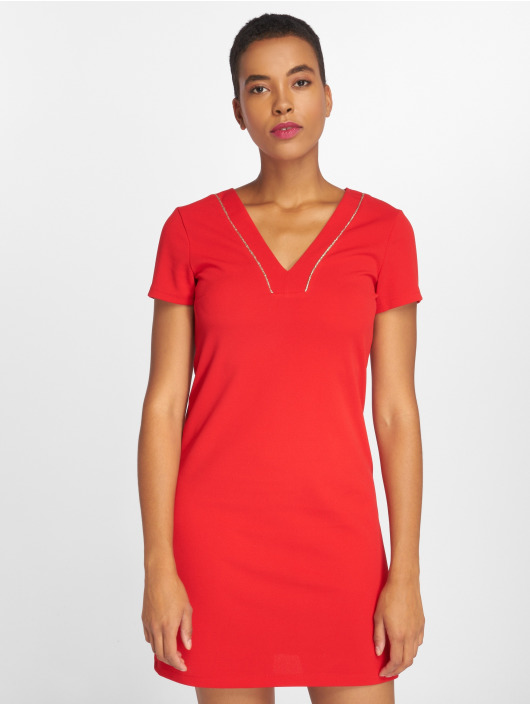 Charming Girl Dress Ulis red