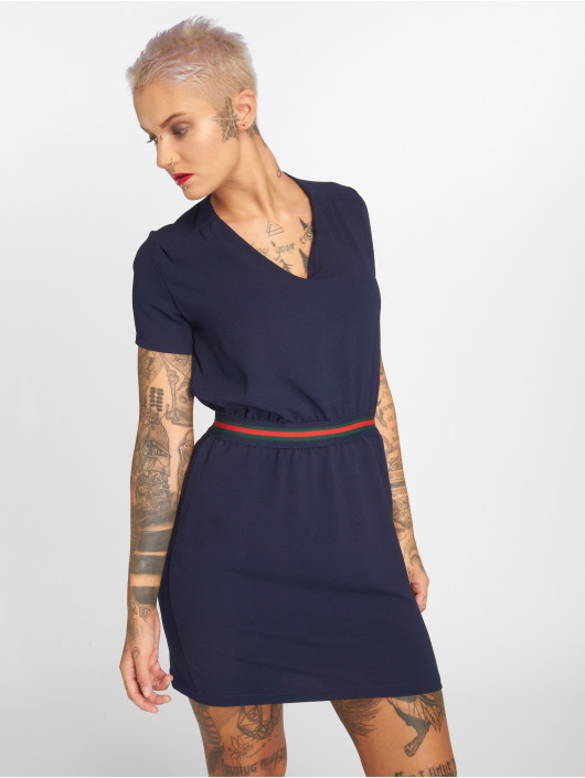 Charming Girl Kleid Urban blau