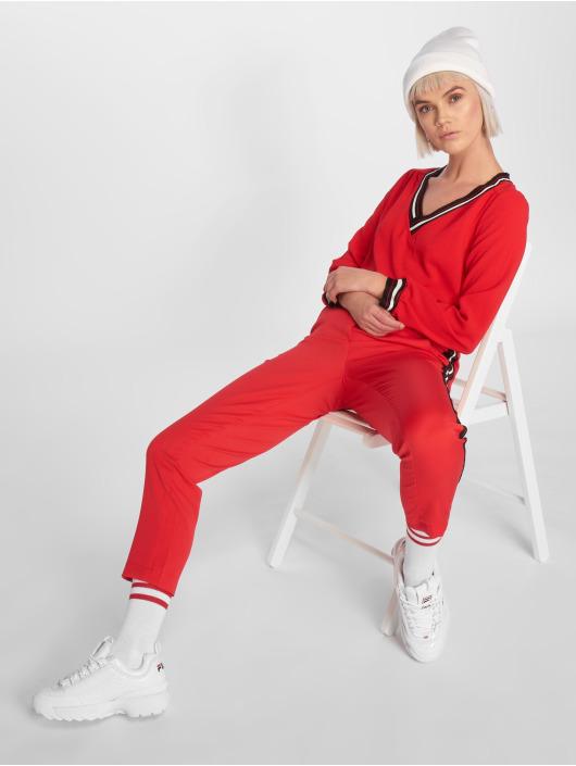 Charming Girl Longsleeves Raz czerwony