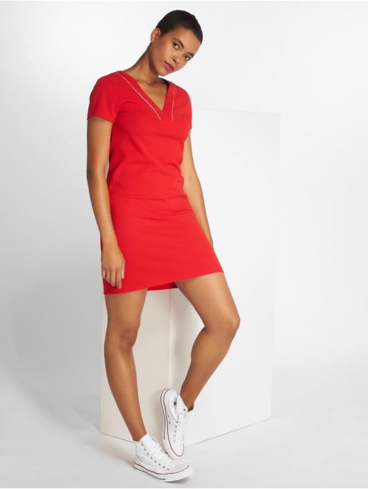 Charming Girl Robe Ulis rouge