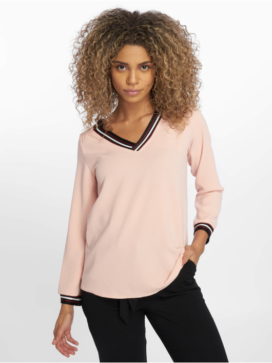 Charming Girl T-Shirt manches longues Raz rose