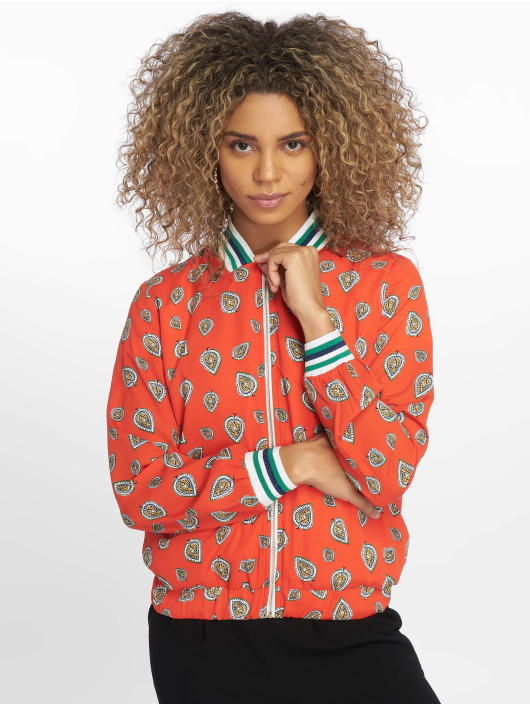 Charming Girl Transitional Jackets Dosty red