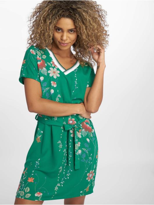Charming Girl Vestido Depose verde